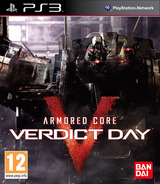 Armored Core: Verdict Day PS3 cover (BLES01898)