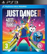 Just Dance 2018 PS3 cover (BLES02254)