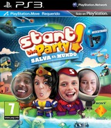 Start the Party! Salva el Mundo PS3 cover (BCES01273)