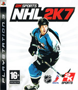 NHL 2K7 PS3 cover (BLES00033)