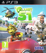Planet 51 PS3 cover (BLES00584)