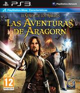 El Señor de los Anillos: Las Aventuras de Aragorn PS3 cover (BLES00998)