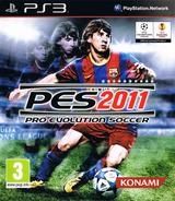 Pro Evolution Soccer 2011 PS3 cover (BLES01022)