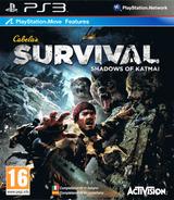 Cabela's Survival: Shadows of Katmai PS3 cover (BLES01412)
