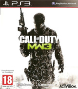 Call of Duty: Modern Warfare 3 PS3 cover (BLES01432)