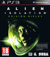Alien: Isolation PS3 cover (BLES01697)