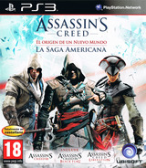 Assassin's Creed: El origen de un nuevo mundo - La Saga Americana PS3 cover (BLES02085)