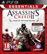 Assassin's Creed II - Game of The Year Edition PS3 cover (BLES00899)