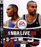 NBA Live 08 pochette PS3 (BLES00119)
