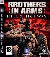 Brothers in Arms: Hell's Highway pochette PS3 (BLES00318)
