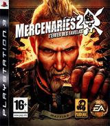 Mercenaries 2:L'Enfer des Favelas pochette PS3 (BLES00323)