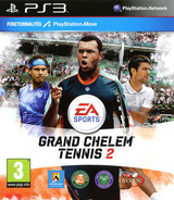 Grand Slam Tennis 2 pochette PS3 (BLES00709)