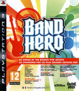 Band Hero pochette PS3 (BLES00711)