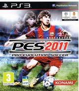 Pro Evolution Soccer 2011 pochette PS3 (BLES01022)