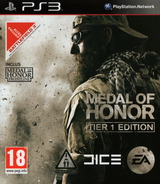 Medal of Honor: Tier 1 Edition pochette PS3 (BLES01106)