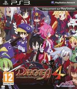 Disgaea 4: A Promise Unforgotten pochette PS3 (BLES01225)