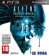 Aliens: Colonial Marines pochette PS3 (BLES01455)