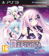 Hyperdimension Neptunia mk2 pochette PS3 (BLES01507)