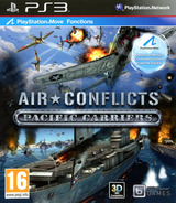 Air Conflicts: Pacific Carriers pochette PS3 (BLES01604)
