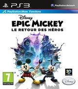 Disney Epic Mickey:Le retour des héros pochette PS3 (BLES01627)