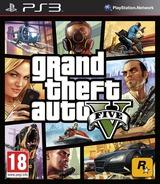 Grand Theft Auto V pochette PS3 (BLES01807)
