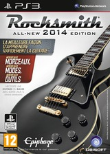 Rocksmith 2014 Edition pochette PS3 (BLES01862)