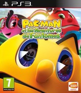Pac-Man and the Ghostly Adventures pochette PS3 (BLES01901)