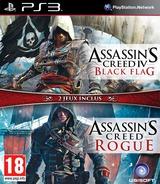 Assassin's Creed IV:Black Flag + Rogue pochette PS3 (BLES02204)
