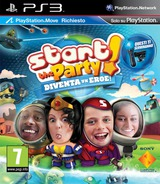 Start the Party! Diventa un Eroe! PS3 cover (BCES01273)