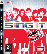 Disney Sing It: High School Musical 3 Senior Year PS3 cover (BLES00442)