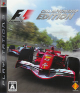 Formula One Championship Edition PS3 cover (BCJS30005)