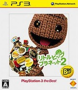 LittleBigPlanet 2 (PlayStation 3 the Best) PS3 cover (BCJS70024)