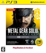 Metal Gear Solid: Peace Walker HD Edition (PlayStation 3 the Best) PS3 cover (BLJM55055)