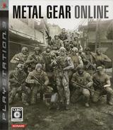 Metal Gear Online PS3 cover (BLJM60082)