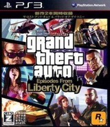 Grand Theft Auto: Episodes from Liberty City PS3 cover (BLJM60235)