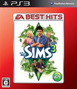 The Sims 3 (EA Best Hits) PS3 cover (BLJM60399)