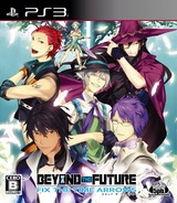 Beyond the Future: Fix the Time Arrows PS3 cover (BLJM60408)