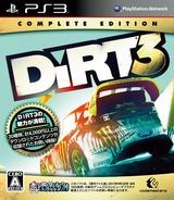 Colin McRae: DiRT 3 (Complete Edition) PS3 cover (BLJM60458)