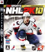 NHL 2K10 PS3 cover (BLJS10065)