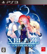 XBLAZE: Lost Memories PS3 cover (BLJS10293)