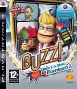 Buzz! Quem é o Génio Português? PS3 cover (BCES00459)
