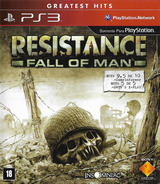 Resistance: Fall of Man PS3 cover (BCUS98107)
