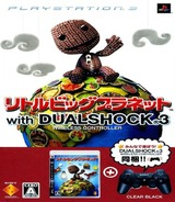 LittleBigPlanet (w/Dual Shock 3 - Clear Black) PS3 cover (BCJN29601)