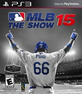 MLB 15: The Show PS3 cover (BCUS00236)