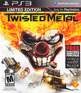 Twisted Metal PS3 cover (BCUS98106)