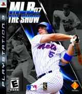 MLB '07: The Show PS3 cover (BCUS98109)