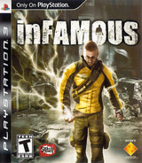 inFamous (Greatest Hits) PS3 cover (BCUS98119)