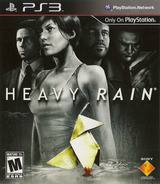 Heavy Rain PS3 cover (BCUS98164)