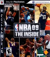 NBA '09: The Inside PS3 cover (BCUS98165)