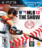MLB 12: The Show PS3 cover (BCUS98295)